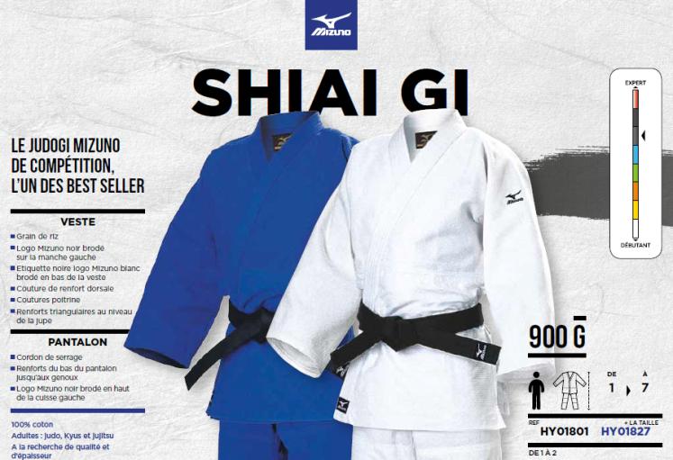 dc8b072a8e50 Kimono Mizuno SHIAI GI – Judo – Mouilleron le captif
