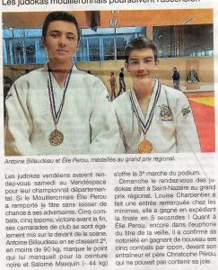 Ouest France - 17/01/2017
