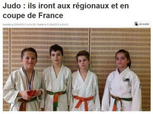 Ouest France - 01/04/2015